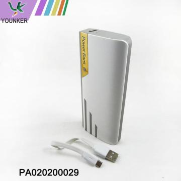 popular mobile power bank/ portable power bank with 20000mAh
