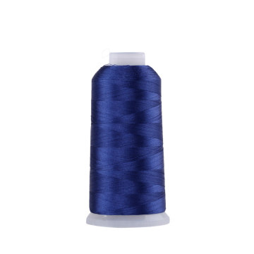 100%  Polyester Embroidery Thread Price