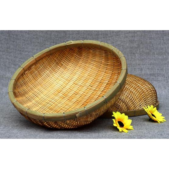 Hand made bamboo dustpan