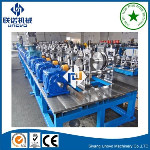 Solar structure section unistrut forming machine