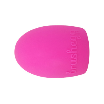Egg Shaped Silicone Brush Cleaner