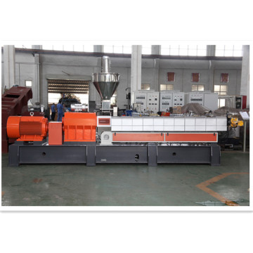 plastic granulation flat die pelletizing machinery