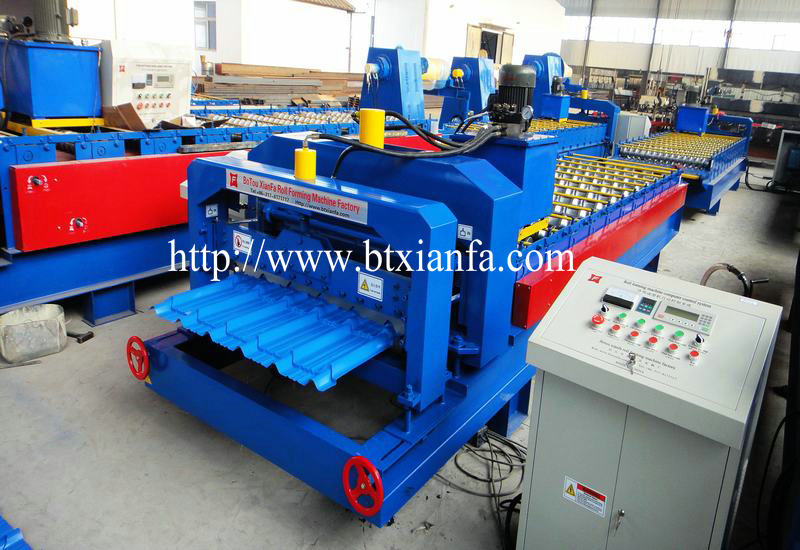 Tile Roofing Machinery