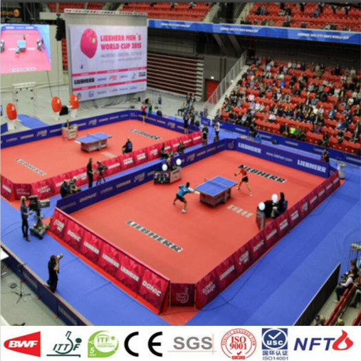 Manufactory pvc Table Tennis Court Mat