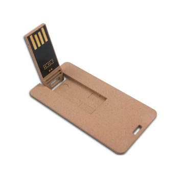 Biodegradable USB Flash Drive round Recycled Cardboard