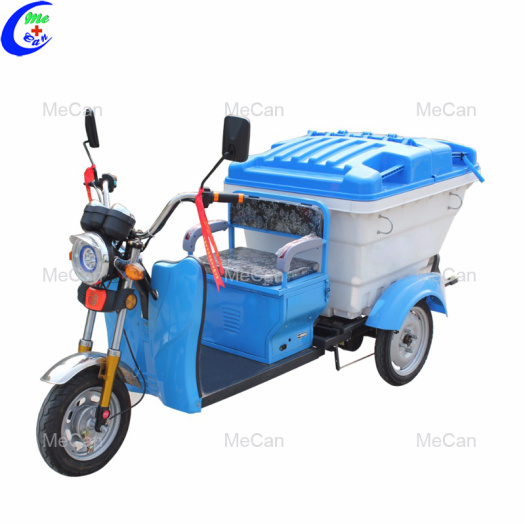 Garbage collection and transportation tricycle electric type