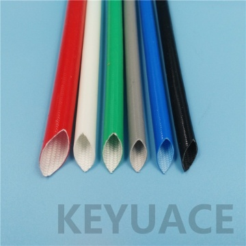 High Quality Silicone Rubber Fiberglass Sleeving