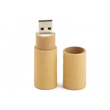 Recycle Paper USB Flash drives with Customized Logo