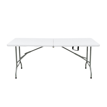 outdoor plastic fold in half 6ft table