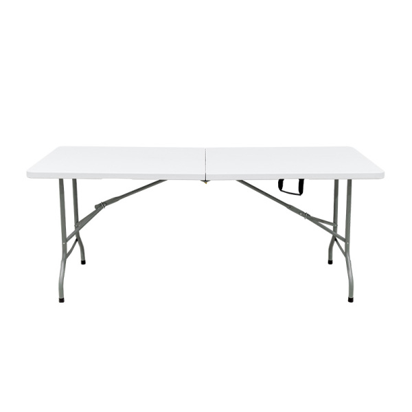 Indoor /Outdoor Used White Plastic 6FT Banquet Table