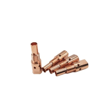 25AK parts Contact tip holder copper Mig