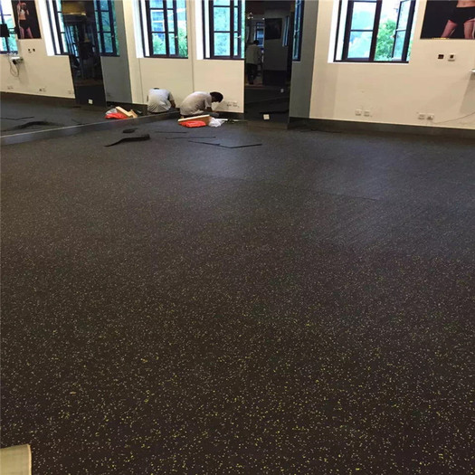 Enlio Durable Gym Room Rubber Tiles