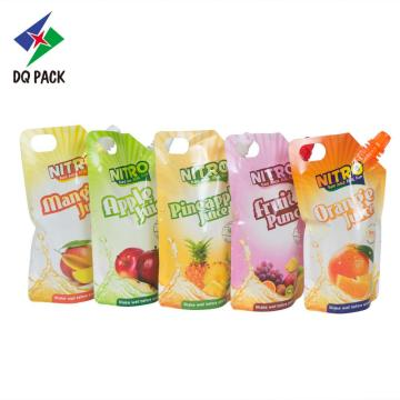 stand up pouch with spout Liquid packaging