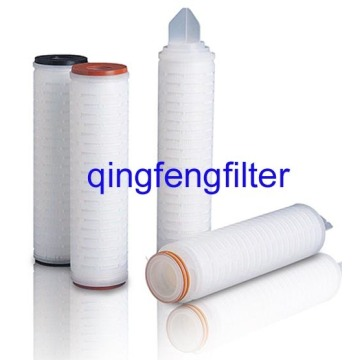 0.45um Pleated PES Filter Cartridge for Food Filtration
