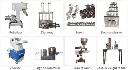 Plastic vertical powder mixer blender