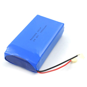 Ultra Thin 504068 14.8V 1500mAh Lipo Battery