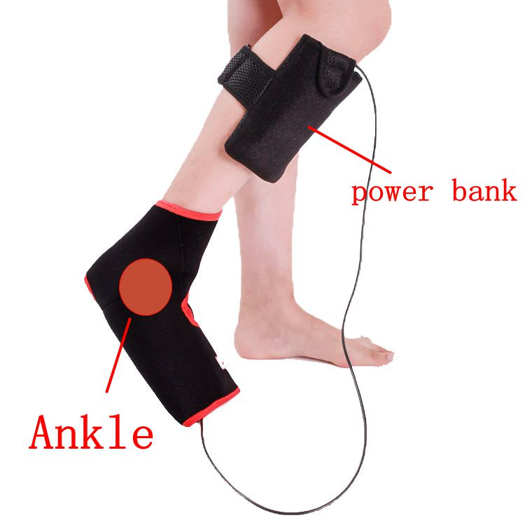 ankle heating pad