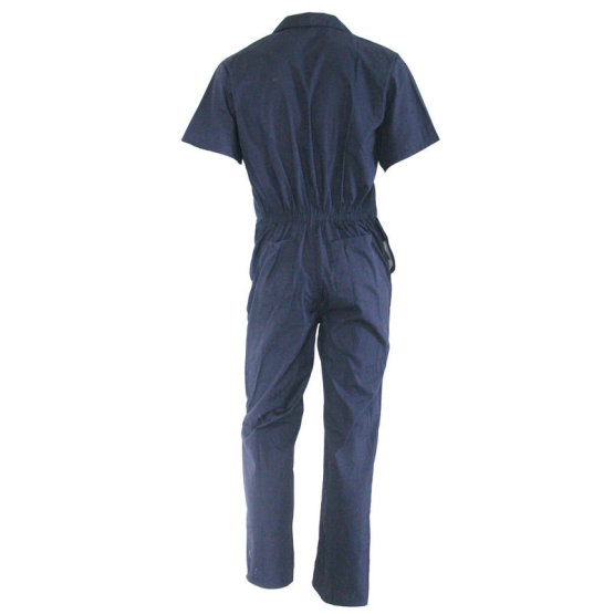 Summer labour coverall with short sleeve