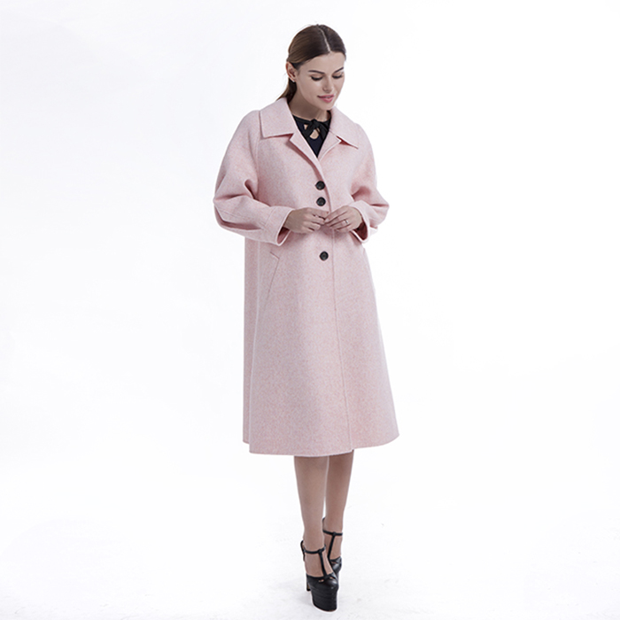 New styles pink winter coat