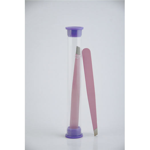 Best selling tweezers pink spray paint