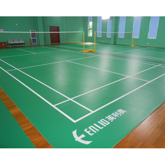 approved by BWF Badminton Court Floor