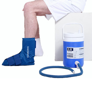 Ice Compression Cold Therapy System with Ankle Pad