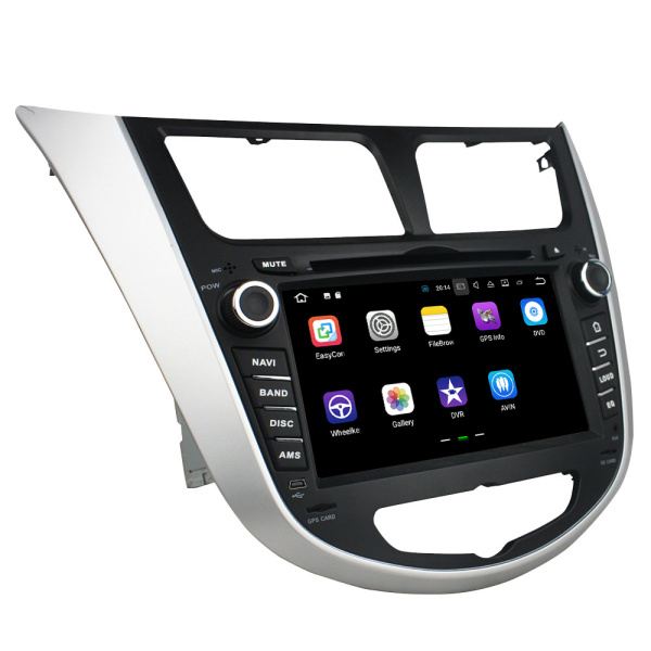 car audio system hyundai Verna /Accent /Solaris 2011-2012