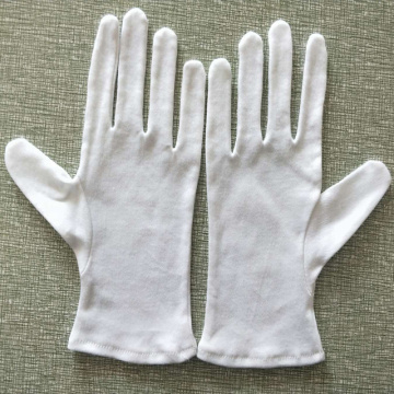 cheap white disposable cotton gloves