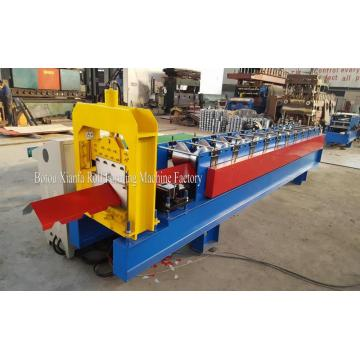 Color Coil Ridge Cap Roll Forming Machine