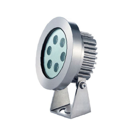 Dimmable SS304 6W LED Underwater Light
