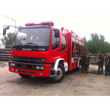 2019 Export to Mozambique ISUZU Powder fire truck