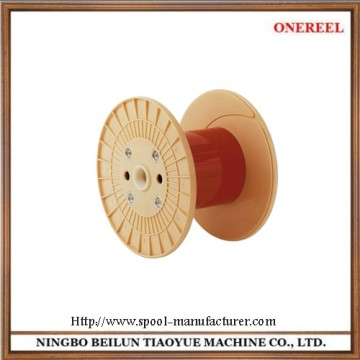 empty plastic wire cable spools reel