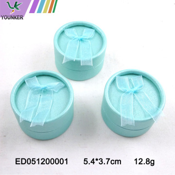 Custom Logo Paper Ring Boxes Premium Jewelry Packing