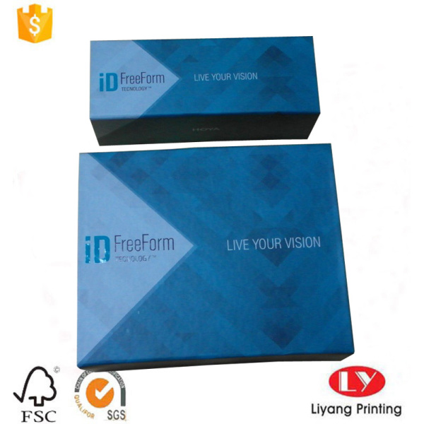 Printed foldable cardboard gift box with magnet