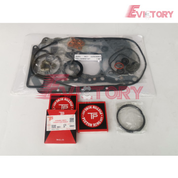 ISUZU 3KC2 head cylinder gasket overhaul rebuild kit