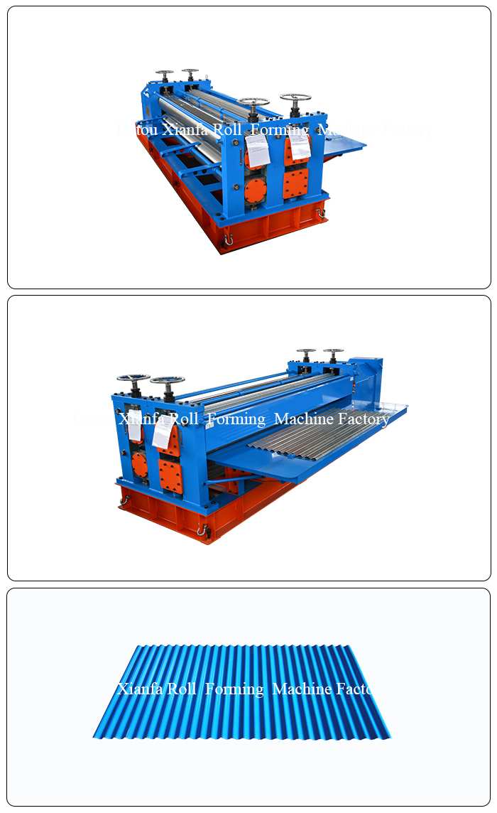 Barrel Corrugated Forming Machine