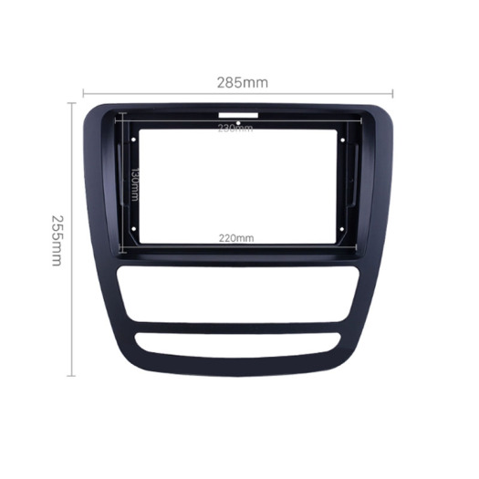 Fascia Black Frame for JAC 2018+