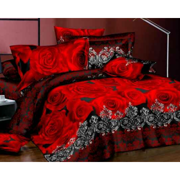 Bed Set Fabric 3D Design