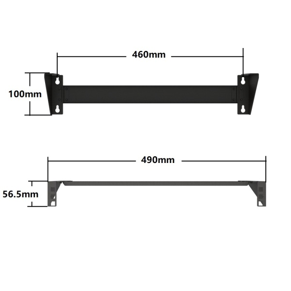 19 Inch Steel Vertical Mounting 1U