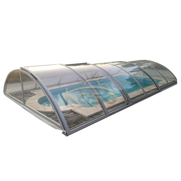 Medium Height Swimming Pool Cover With Aluminium Frame