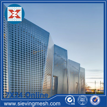 Perforated Metal Facade Panels