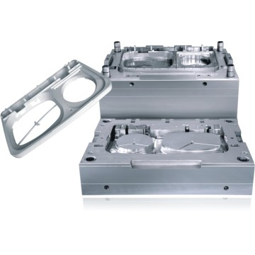 Washing machine top plastic control panel injection mould