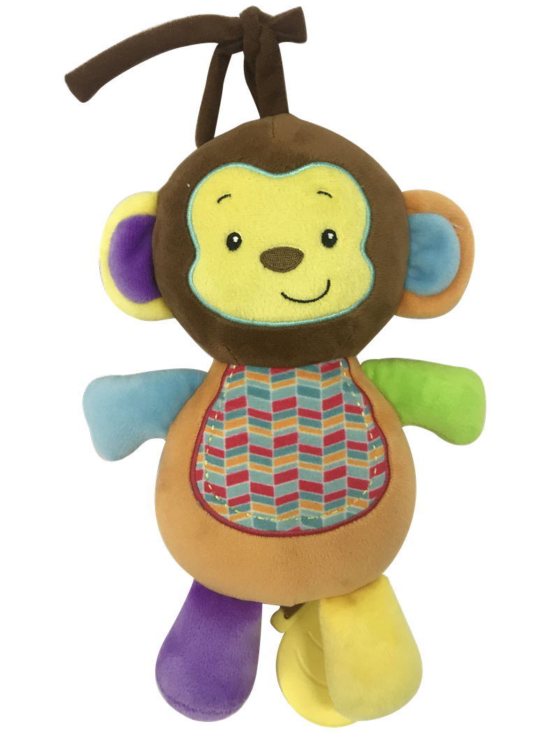 Soft Monkey Toy With Music
