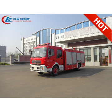 2019 Cheap Chinese DFAC 6000litres Foam fire trucks