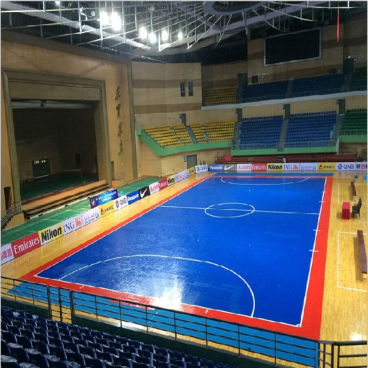 Indoor high durability interlocking sports tiles