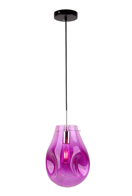 Glass Lamp Pink
