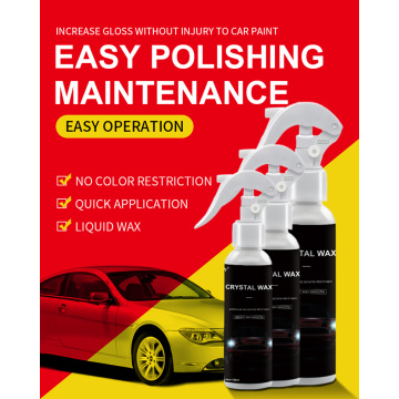 Anti-scratch Car Liquid Spray Crystal wax plating