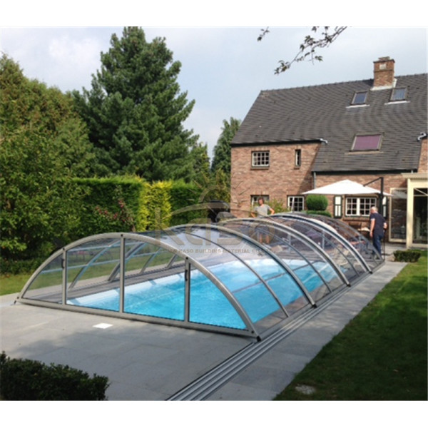 Winter Slide Shelter Safety Swimming Pool Telescopic Cover