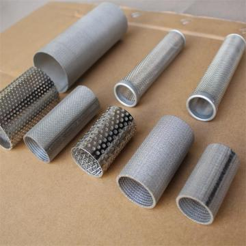Sintered mesh stainless steel mesh cylinder filter