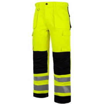 High visibility reflective safety clothing